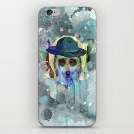 WOLF WATERCOLOR iPhone Skin
