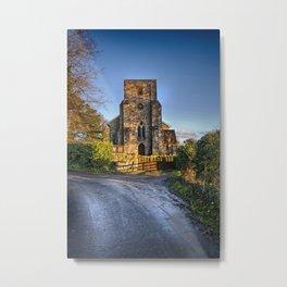 The Lane To St Michael's. Metal Print
