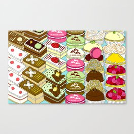 Cakes Cakes Cakes! Canvas Print