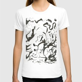 Inky Palms T-shirt