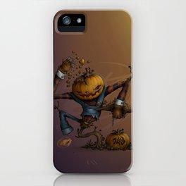 Freddy Pumpkins iPhone Case