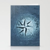 "destiny Stationery Cards featuring ""Destiny"" by Guido Montañés"