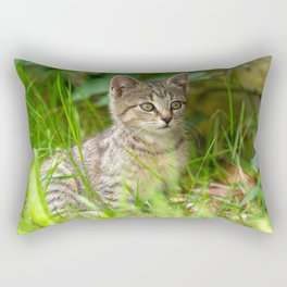 Sweet Baby Tiger Rectangular Pillow