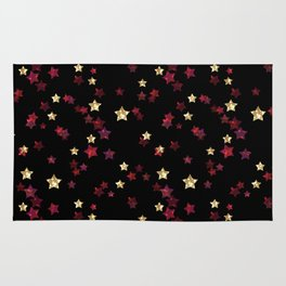 The night sky. Stars Rug