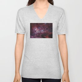 Carina Nebula of the Milky Way Galaxy Unisex V-Neck