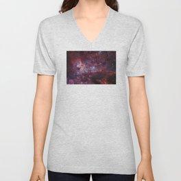 Carina Nebula of the Milky Way Galaxy Unisex V-Neck