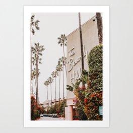 The Beverly Hills Hotel / Los Angeles, California Art Print