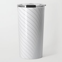 Pure White Line Travel Mug
