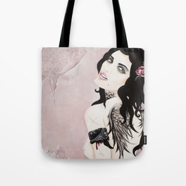 SINNER & SAINT  Peace Troubled Soul Tote Bag