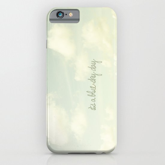 Its a blue sky day II iPhone & iPod Case