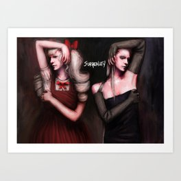 Alice and Maggie Art Print