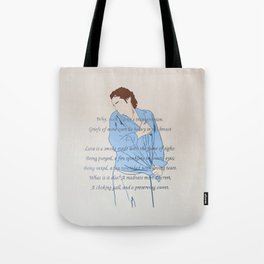 Griefs of mine own lie heavy in my breast Tote Bag