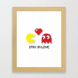 Stay In Love Framed Art Print
