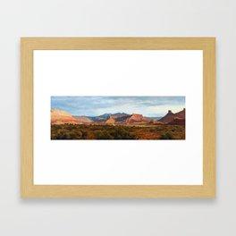Moab Summer Evening Framed Art Print