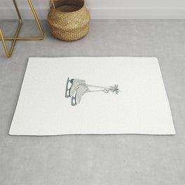 Figure skates Rug