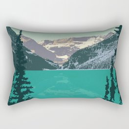 Lake Louise Rectangular Pillow