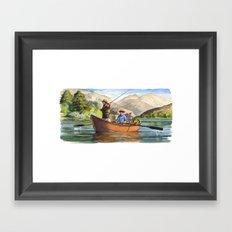 Snake River Framed Art Print