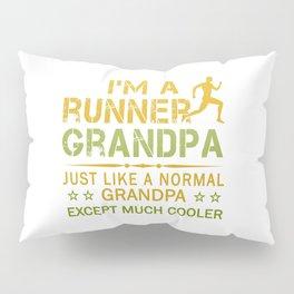 RUNNER GRANDPA Pillow Sham
