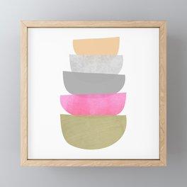 Balance, Mid Century Modern Art Framed Mini Art Print