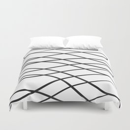 Abstract Line No. 48 Duvet Cover