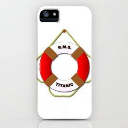 RMS Lifebelt iPhone Case