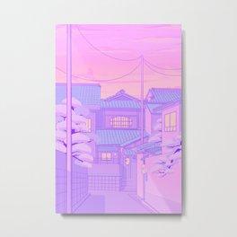 Kyoto Walk Metal Print