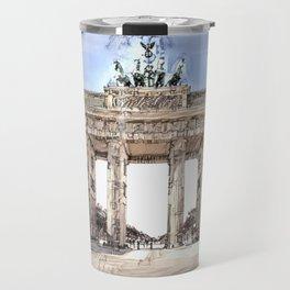 Brandenburg Gate Travel Mug