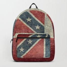 Mississippi State Flag - Distressed version Backpack