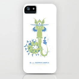 H is for Hippocampus iPhone Case
