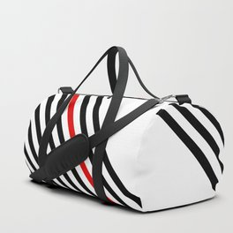 80s stripes Duffle Bag