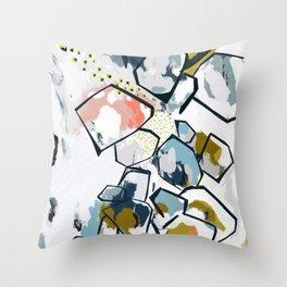 Ava Abstract Print Throw Pillow