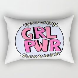 Grl Pwr - Feminist Rectangular Pillow