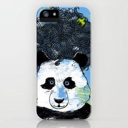 Mad Panda iPhone Case