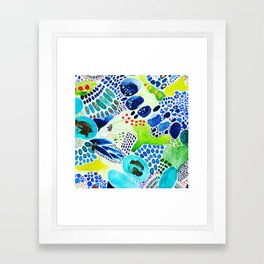 Patio Framed Art Print