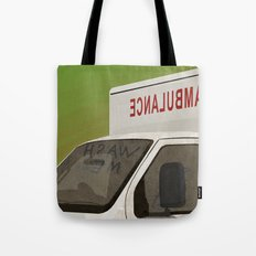 wash me - ambulance Tote Bag