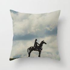 Gaelic Cheiftan Throw Pillow
