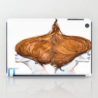 gemini iPad Cases featuring Gemini by Aloke Design