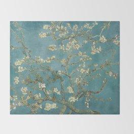 Almond Blossom - Vincent Van Gogh Throw Blanket