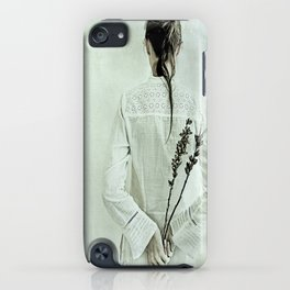 The contemplation of the hours. iPhone Case