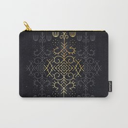 Golden Echo Carry-All Pouch
