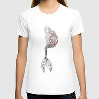 mermaid T-shirts featuring mermaid  by Ina Spasova puzzle