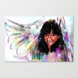 Angel in Bethany Canvas Print