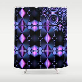 Fractal 80 Shower Curtain
