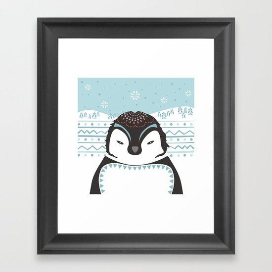 Messer Pinguino Framed Art Print