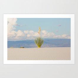 White Sands, No. 3 Art Print