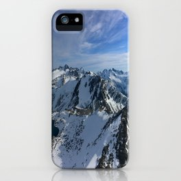 Lake of Alps iPhone Case
