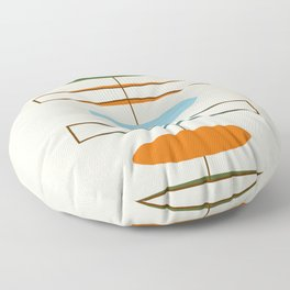 Mid-Century Modern Art 1.2 Floor Pillow