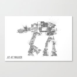 Star Wars Vehicle AT-AT Walker Canvas Print