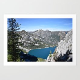 Hears to you Mother Earth - Colchuck Lake, Washington State Art Print