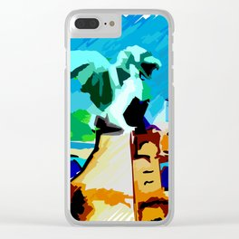 Ljubljana's Dragon Clear iPhone Case